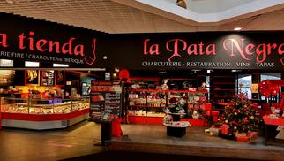 Le 9 juin, le restaurant PATA NEGRA se pare de ses plus beaux atours (® SAAM fabrice CHORT)