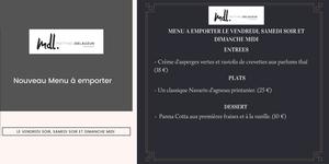 Le restaurant Matthieu Delauzun propose des menus à emporter à Pézénas.