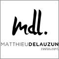Matthieu Delauzun, une cuisine identitaire et personnalisée à découvrir au Prieuré St Jean de Bébian à Pézénas.