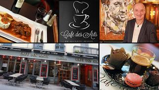 Venez profiter de la terrasse du Café des arts à Béziers !