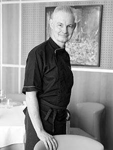 M.Patrick Olry est Président de l'association des Tables Gourmandes du Languedoc et de l'UMIH Béziers.(® SAAM-fabrice Chort)