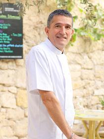 Le chef cuisinier du restaurant Le Patio Béziers est Fabrice Pons (® SAAM fabrice CHORT)