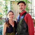 Le restaurant Les Marronniers à Lamalou-les-bains qui propose une cuisine traditionnelle faite maison est géré par Candice et Christophe.(® SAAM fabrice CHORT)