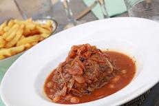 Le Rio des Belges Béziers est un restaurant belge avec une cuisine fait maison en centre-ville . Ici une spécialité belge (® SAAM-fabrice Chort)