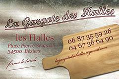La Gargote des Halles Béziers et sa carte