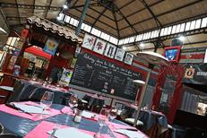 Vous cherchez restaurant aux Halles de Béziers ? Découvrez La Gargote des halles.(® SAAM-fabrice Chort)
