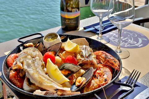 Le Marin Pêcheur à Agde est un restaurant de poissons qui propose une cuisine fait maison. (® SAAM fabrice CHORT)