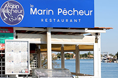 Le Marin Pêcheur Agde   Carte et Menus du restaurant (® SAAM fabrice CHORT)