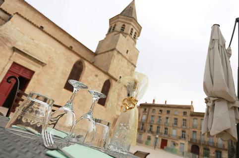 Le Roi des Belges Béziers est un restaurant au centre-ville qui propose une cuisine fait maison à base de produits frais.(® SAAM-fabrice Chort)