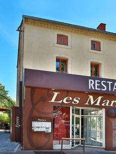Les Marronniers à Lamalou-les-Bains est un restaurant de cuisine méditerranéenne faite maison à base de produits frais.(®SAAM fabrice CHORT)