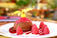 Les Marronniers Lamalou-Les-Bains est un restaurant de cuisine fait maison avec des produits frais ( ® SAAM fabrice CHORT)