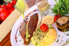Les Marronniers Lamalou-Les-Bains est un restaurant fait maison avec une cuisine méditerranéenne (® SAAM fabrice Chort)