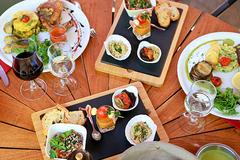 Restaurant Les Marronniers à Lamalou | Carte et Menus (® SAAM fabrice CHORT)