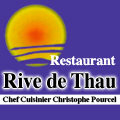 Rive de Thau restaurant Bouzigues au bord de l'Etang de Thau